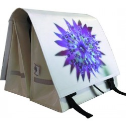 Large LUXE 45L PHOTO puple flower