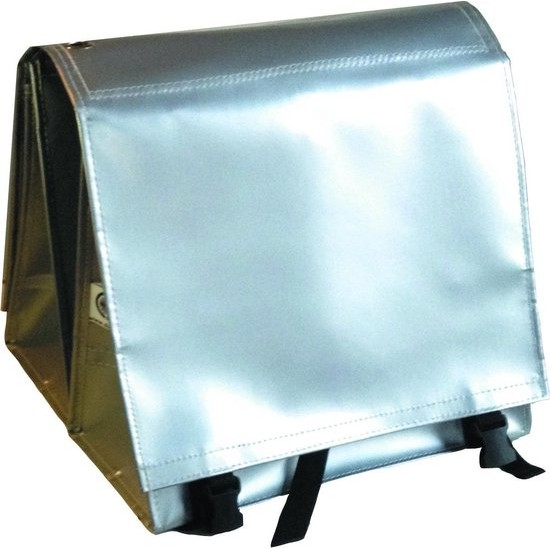 Large LUXE 45L silver