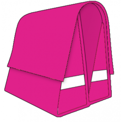 Large LUXE 45L pink