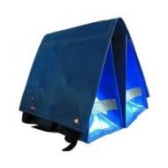 Large LUXE 45L crete blue