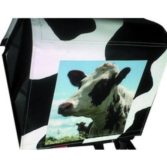 Large LUXE 45L PHOTO spotty cow