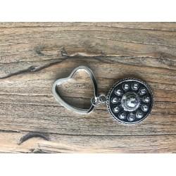 ZZZand keychain hart - 511