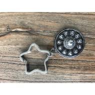 ZZZand keychain star - 511