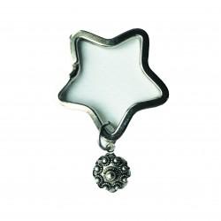 ZZZand keychain star - 516