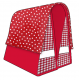 Mexi Kidz Polka Red - Double bicycle bag 21L