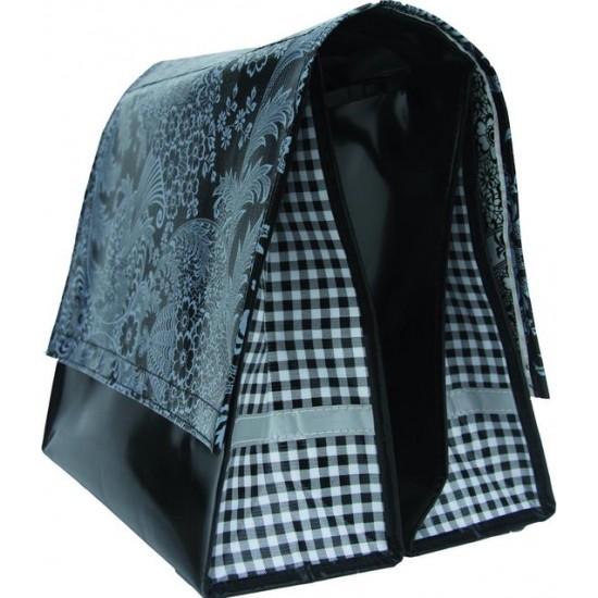 Mexi Kidz Barok Black - Double bicycle bag 18L