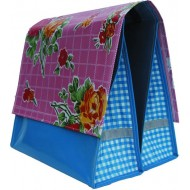 Mexi Kidz Rosedal Pink - Double bicycle bag 18L
