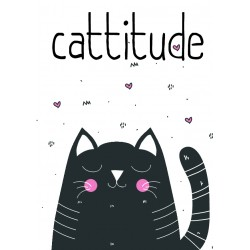 Postcard Design Cattitude