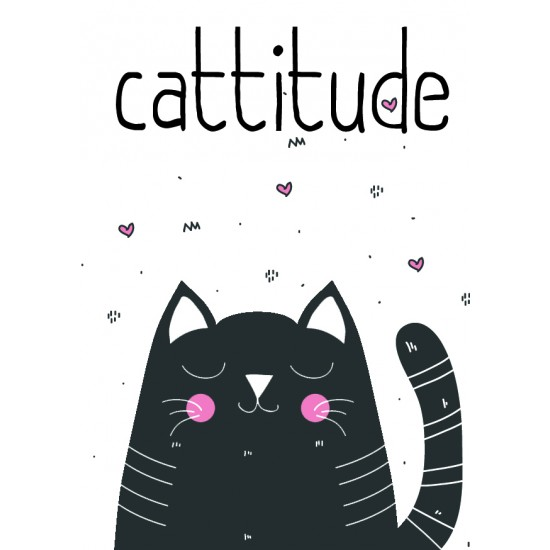 Postcard Design Cattitude