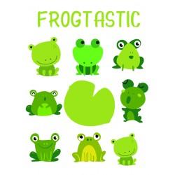 Postcard Design Frogtastic