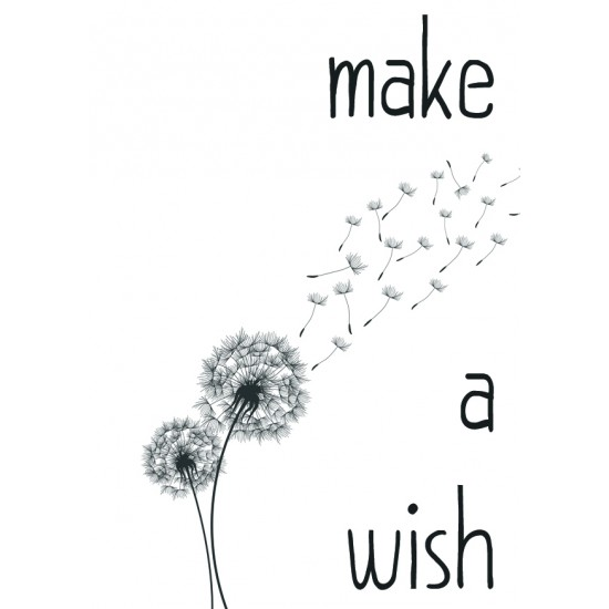 Postcard Design Make A Wish