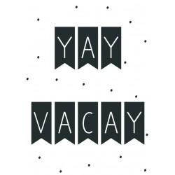 Postcard Design Yay Vacay