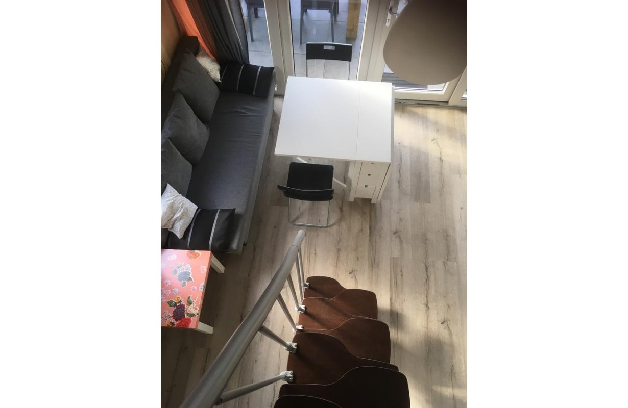 Ikea Norden half table