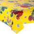 Mexican oilcloth chrysant yellow - off the roll