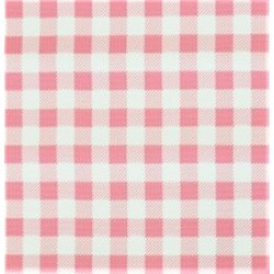Mexican oilcloth pepita pink - off the roll